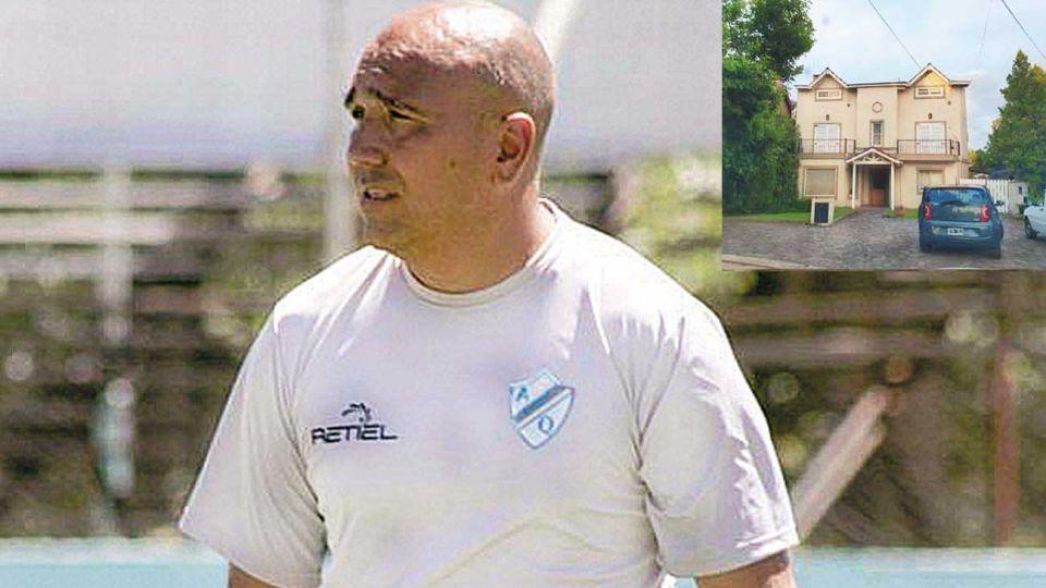 Buscado. Acosta Delbene dirigió Argentino de Quilmes y es amigo de Juan Martín Lucero, el delantero del Fortín que organizó la fiesta en una casa de Camino Real.