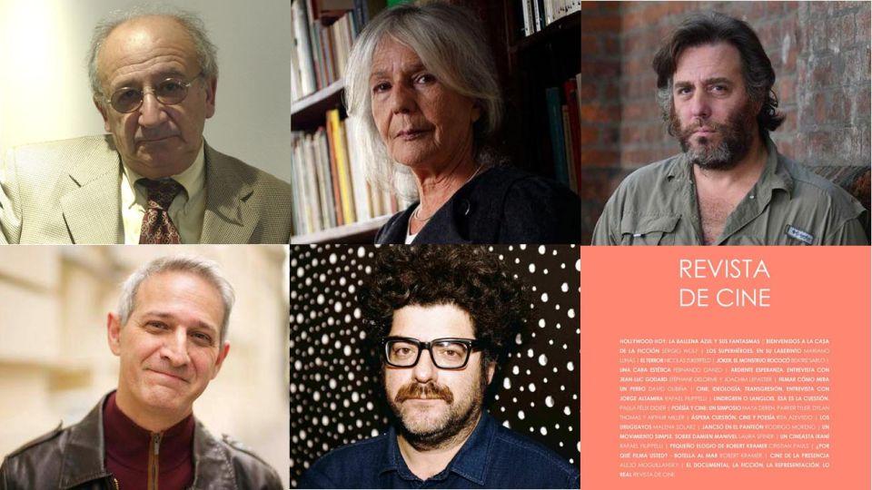 Revista de Cine 7. Con textos de Rafael Filippelli, Beatriz Sarlo, Mariano Llinás, Sergio Wolf y Rodrigo Moreno, entre otros..