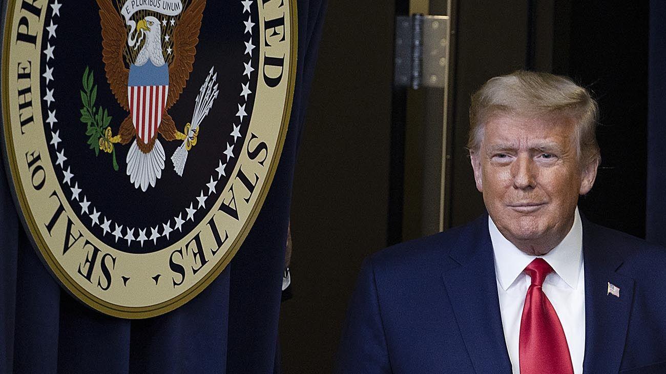 El expresidente de los Estados Unidos, Donald Trump
