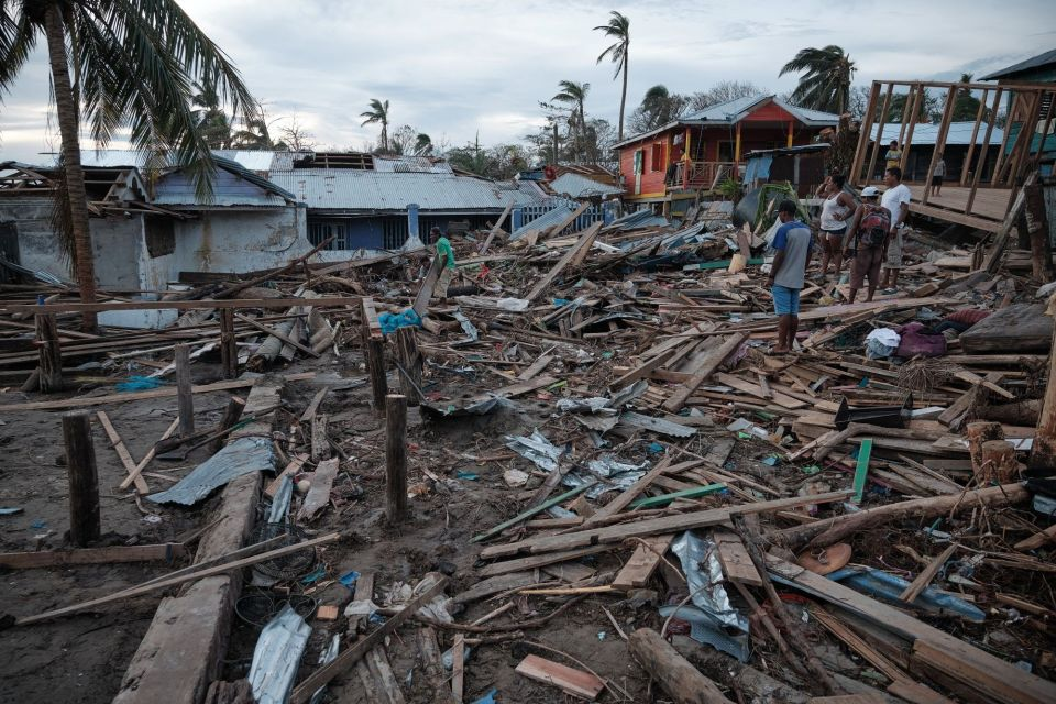 Aftermath Of Hurricane Iota In Central America