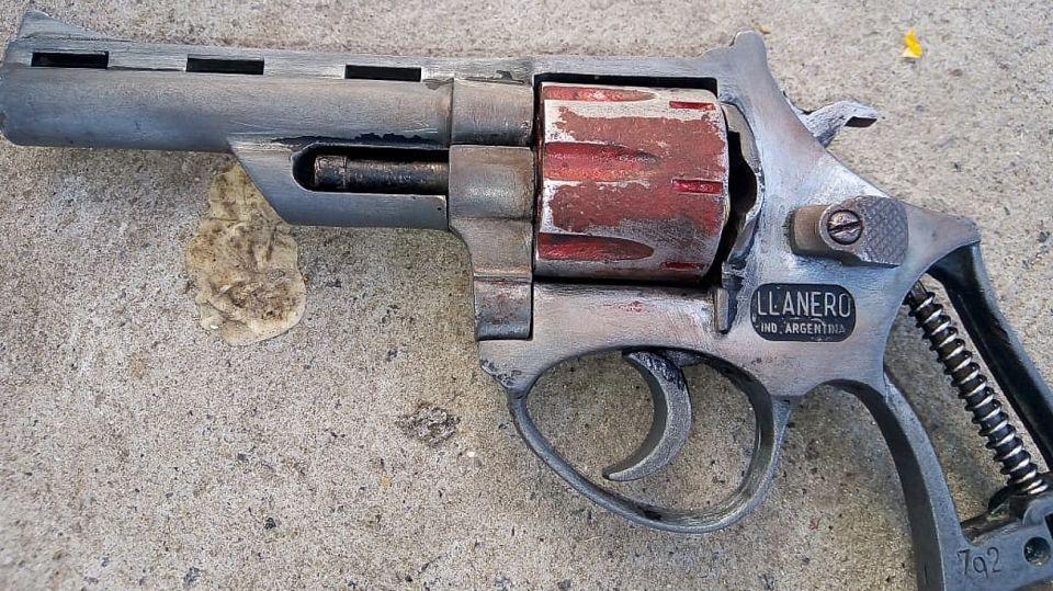 Esta sería el arma homicida secuestrada por la policía.