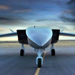 Gracias a sus dimensiones, el Aevum Ravn X puede despegar y aterrizar fácilmente en una pista de un kilómetro y medio de extensión.
