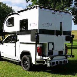 El nuCamp Cirrus 620 pesa 680 kilos y ofrece todas las comodidades básicas para el viajero.