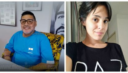 Magalí Gil, la supuesta hija de Maradona, dio negativo en la prueba de ADN