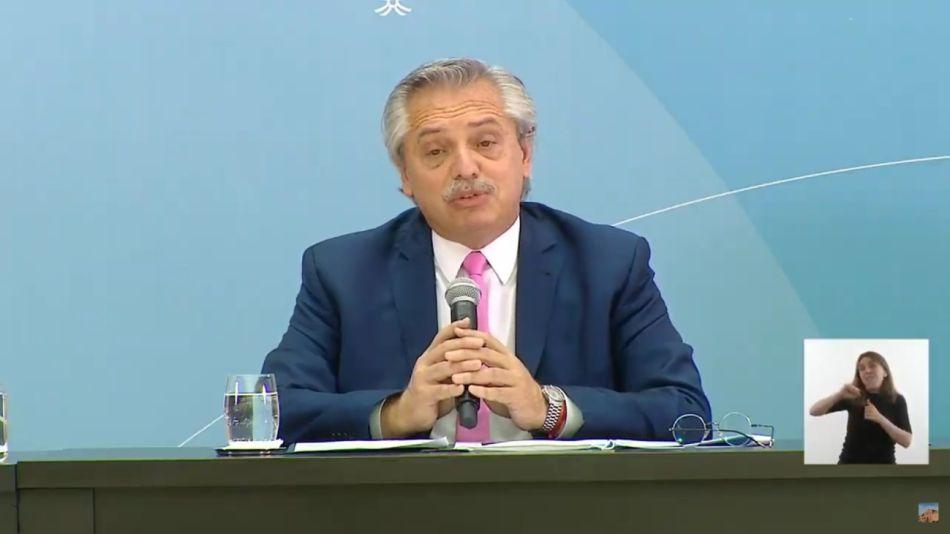 Alberto Fernández inaugura obras públicas en 12 provincias