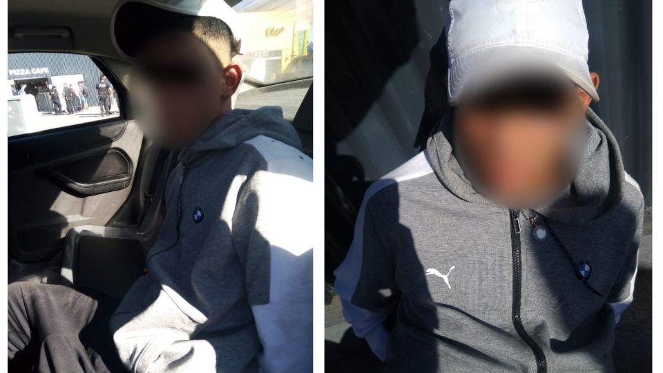El joven de 15 años detenido como presunto autor del homicidio del ciudadano armenio en Retiro.