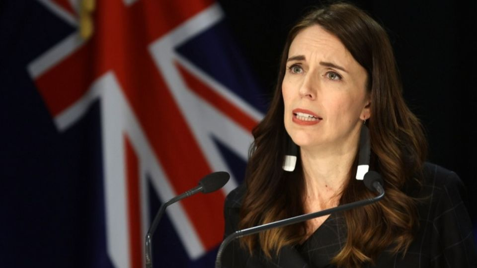 La primer ministra de Nueva Zelanda, Jacinda Ardner