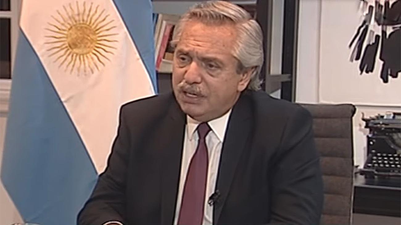 Alverto Fernandez entrevista