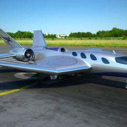 El Pegasus está diseñado para transportar hasta nueve pasajeros con las comodidades de un jet privado.