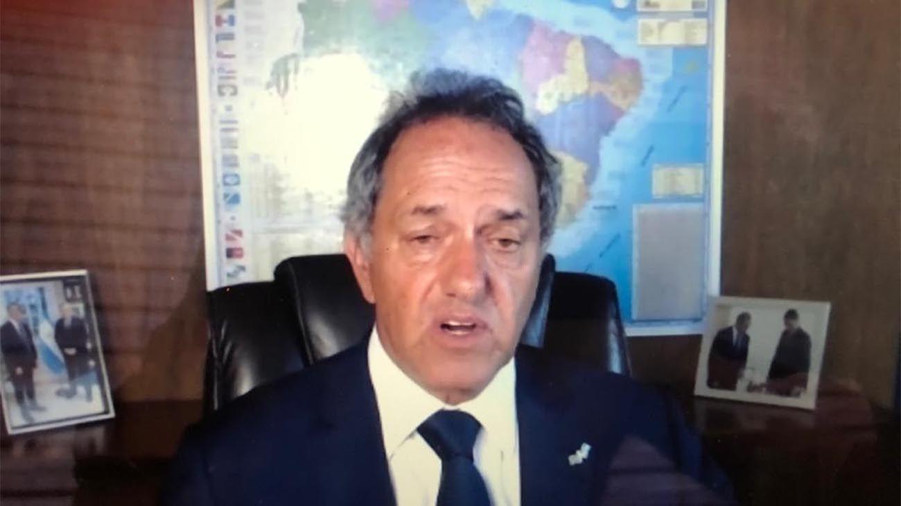 Daniel Scioli, embajador argentino en Brasil.