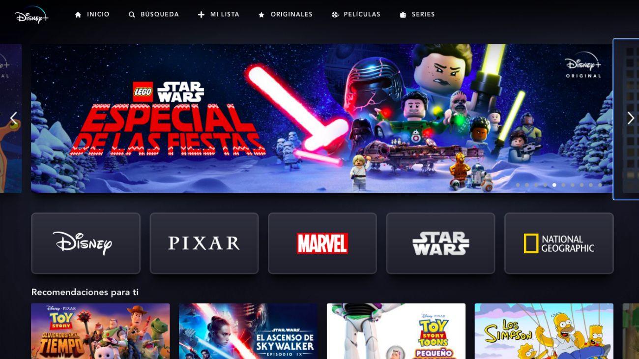 Disney Plus.