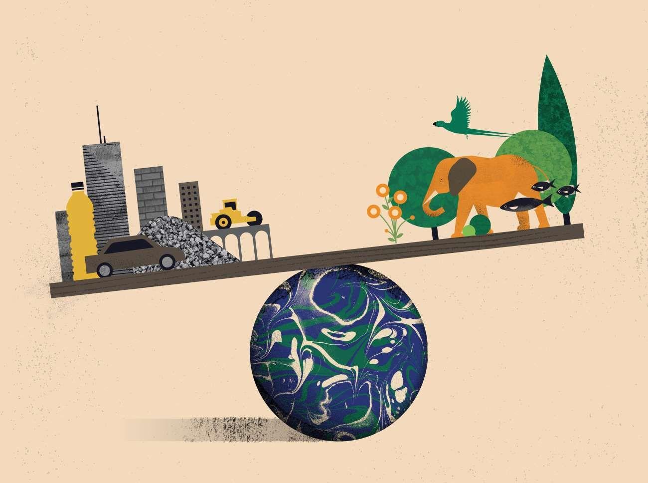 El peso de lo que producimos ya equivale a todo el de la naturaleza que nos rodea.