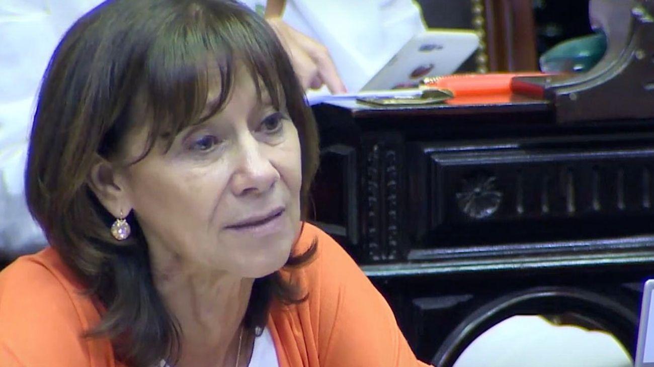 La diputada del Frente de Todos, Alicia Aparicio