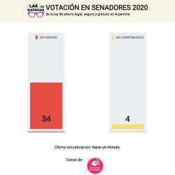 Según el género: así fueron los votos de las diputadas y los diputados