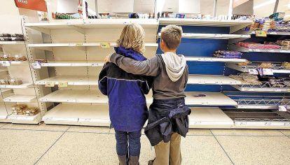 Supermercados. Esperan problemas de desabastecimiento.