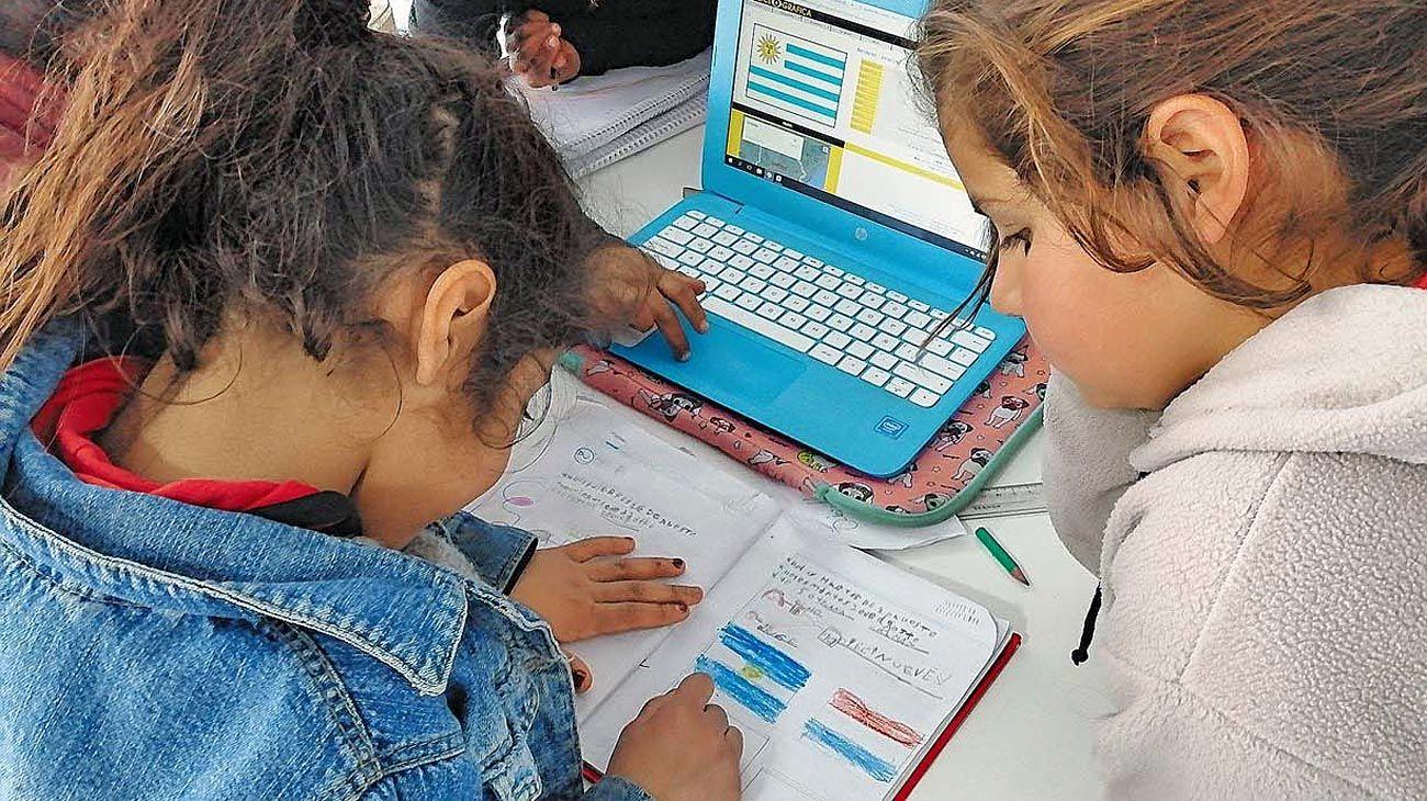 Como se pudo. La escuela virtual no fue igual para todos.La mayoría tuvo problemas de conectividad.