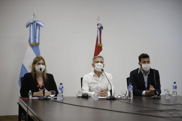 EJE DE LA INTERNA. Avilés, Alesandri y Mariana Caserio, parte de la disputa de Turismo en Córdoba.