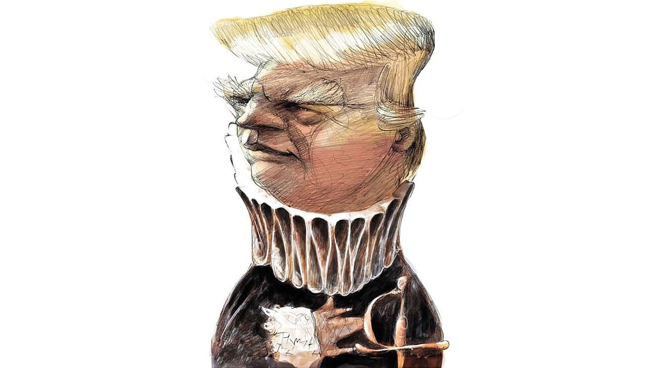'... To be or not to be...' Donald trump