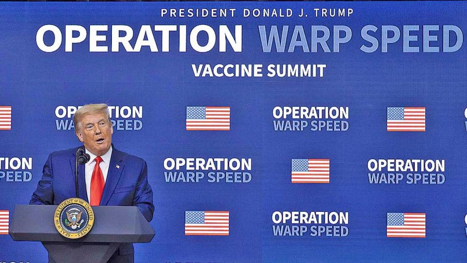Presidente. Prometió que todos los estadounidenses podrán acceder a la vacuna contra el coronavirus.