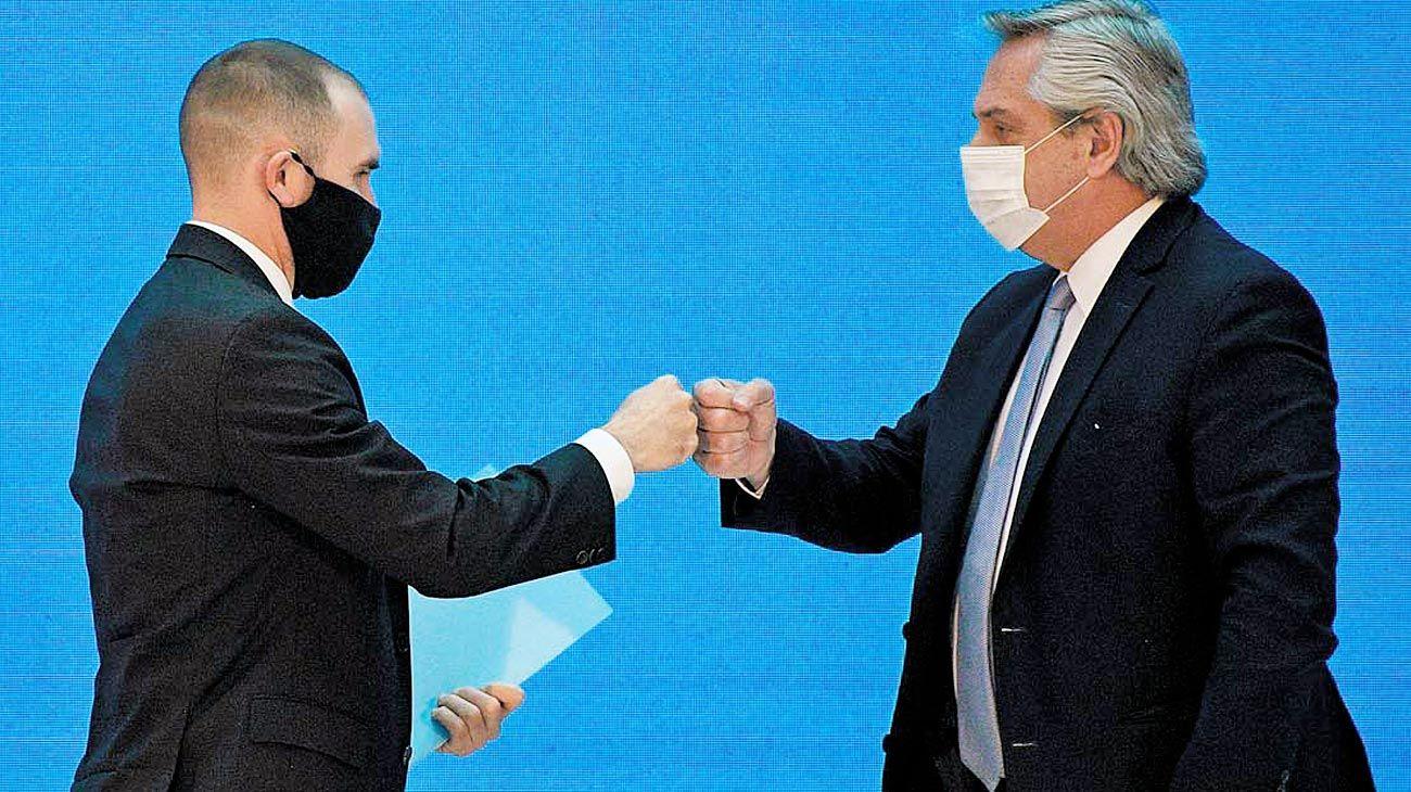Objetivos económicos. El gobierno de Fernández busca cerrar un acuerdo con el Fondo Monetario Internacional (FMI) para tener más oxígeno financiero el año que viene.