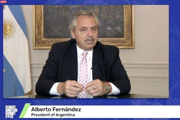 Alberto Fernandez participó de la Cumbre de Ambición Climática en el quinto aniversario del Acuerdo de París,