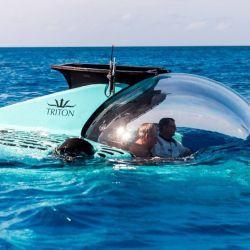 El 3300/6 ostenta el privilegio de ser primer sumergible de casco acrílico a presión para seis ocupantes homologado para inmersiones de más de 1.000 metros.