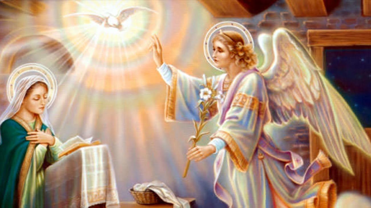 la Sagrada Familia, Nazaret , San José, padre de Jesús, el Angel Gabriel anunciando a María que será la madre de Jesús