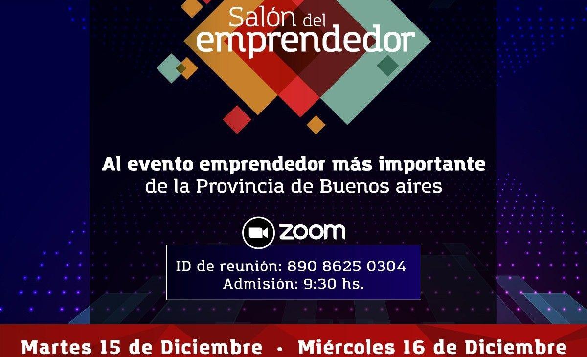 El Salón de los Emprendedores será virtual este año.