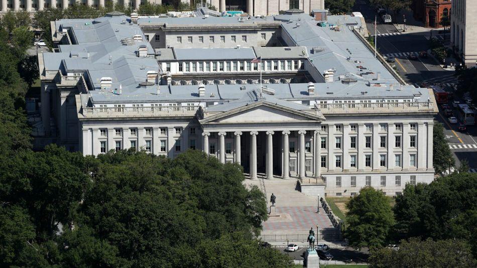 El Tesoro de los Estados Unidos fue uno de los que sufrieron el cibertaque.