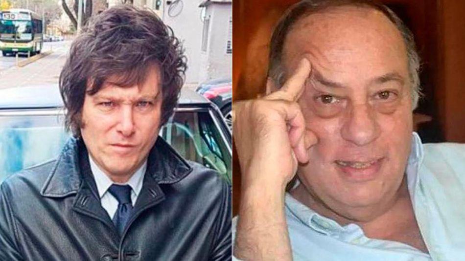 Milei y Roberto Cachanovsky 20201214