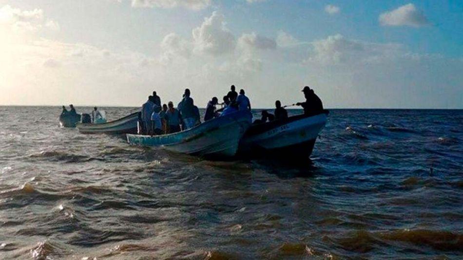 naufragio de inmigrantes venezolanos en Güiria 20201214
