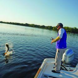 El lugar se hizo muy popular entre los pescadores gracias a la pesca del surubí y del dorado entre otros ejemplares.