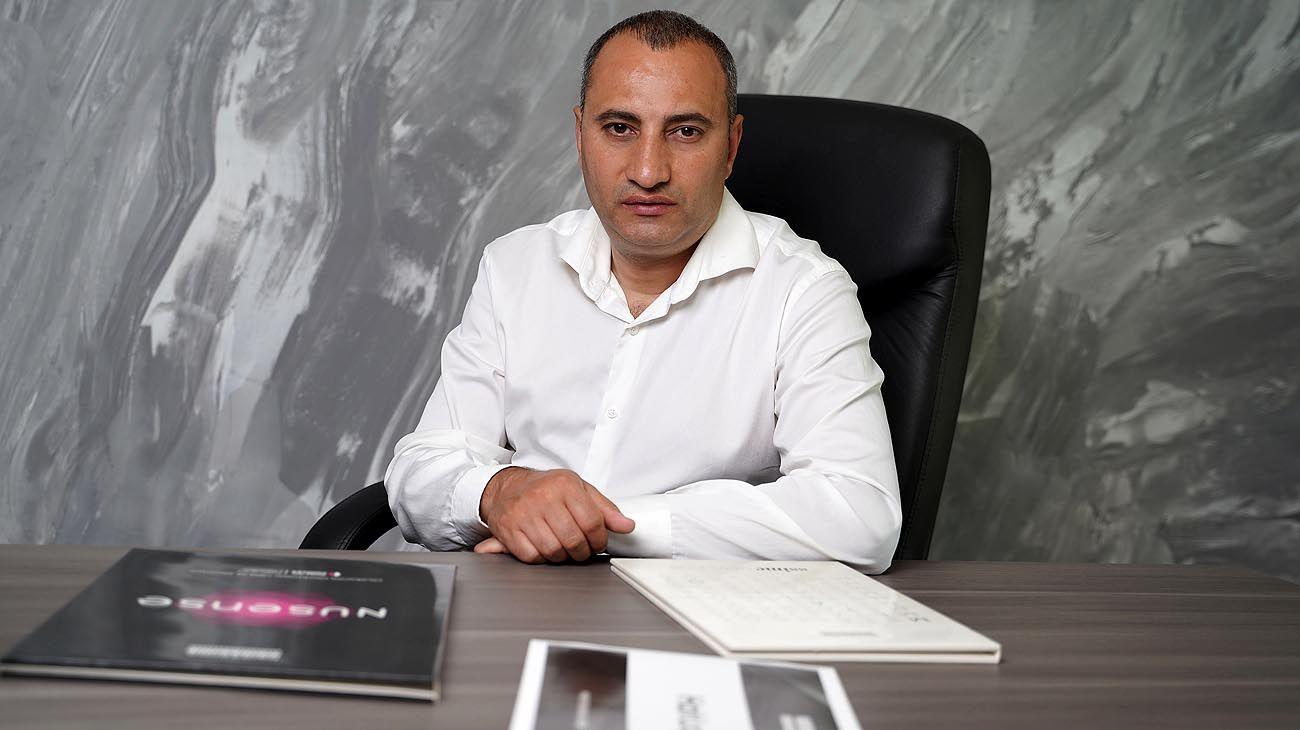 Gago Martyrosyan, fundador y dueño de Hairssime