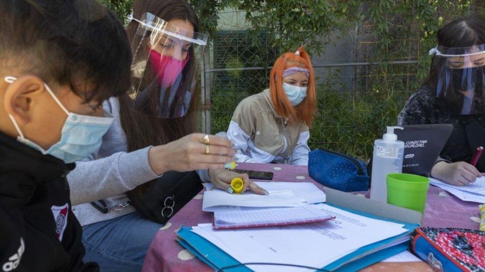 alumnos en pandemia