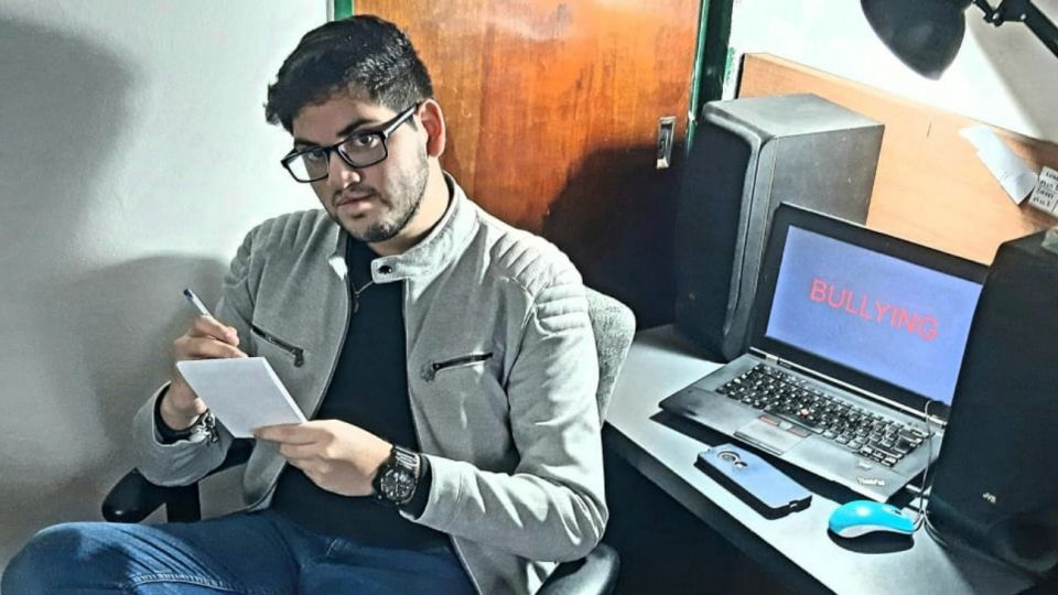 """Thomas Juarez, de 18 años, desde Argentina. El es uno de los jóvenes de entre 15 y 23 años que participará del """"Open Mic"""", el momento del Festival Recreo que propone un espacio abierto para adolescentes."""