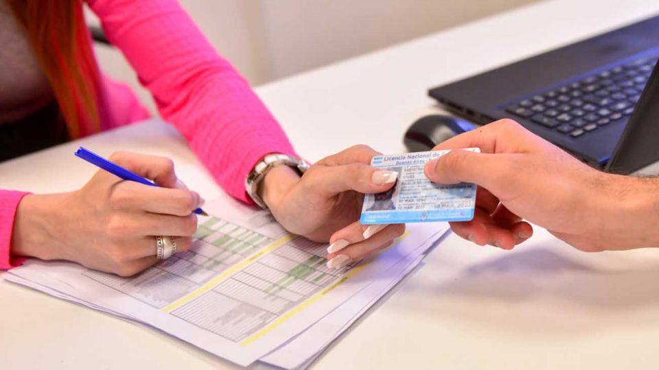 renovacion de licencias de conducir en la provincia de bs as