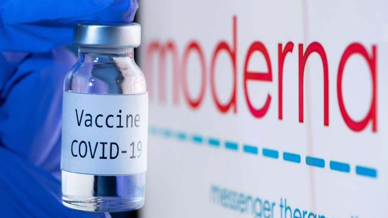 Vacuna de Moderna.