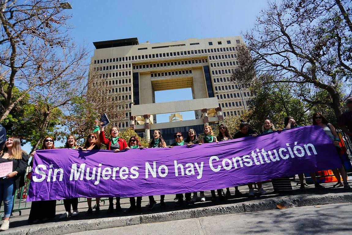Las mujeres tuvieron un papel importante en el proceso constituyente en Chile.