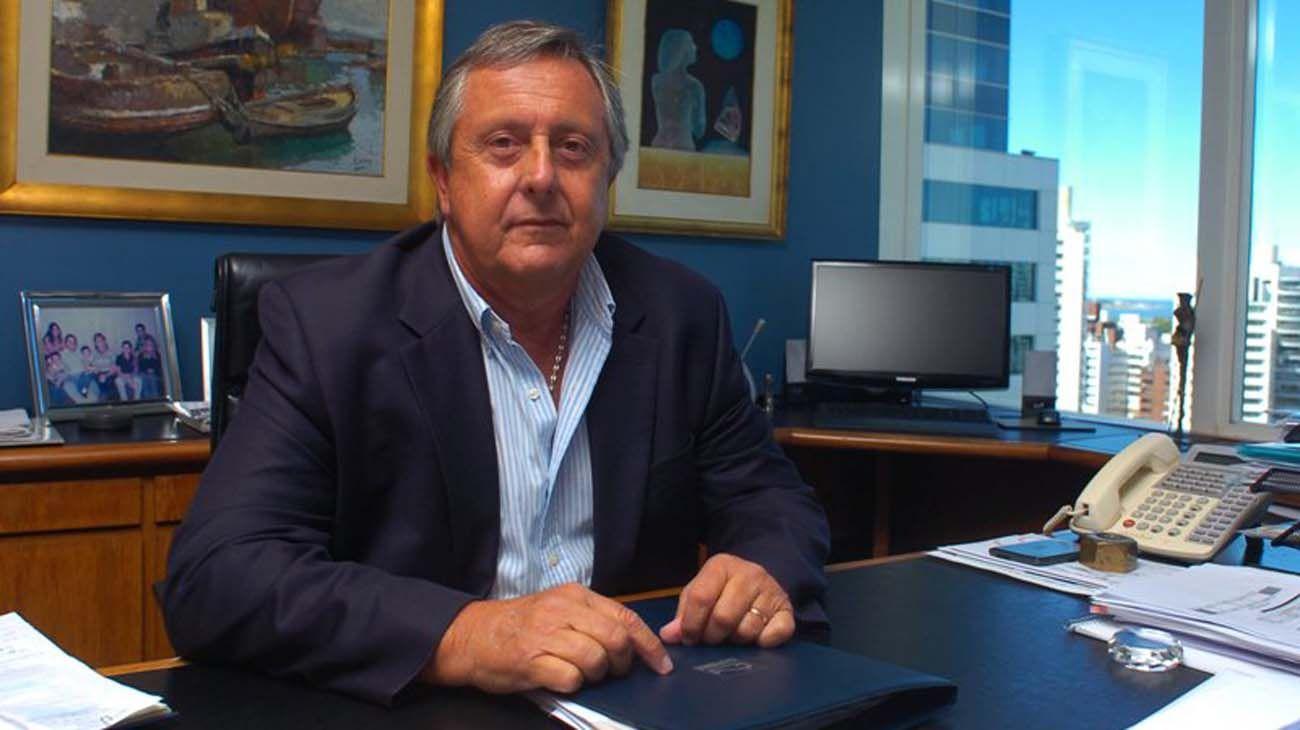Carlos Lecueder, empresario uruguayo.
