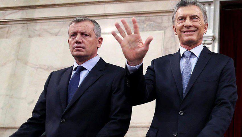 Mauricio Macri y Emilio Monzó