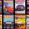 Tapas con recordados autos de la época y algunos superdeportivos