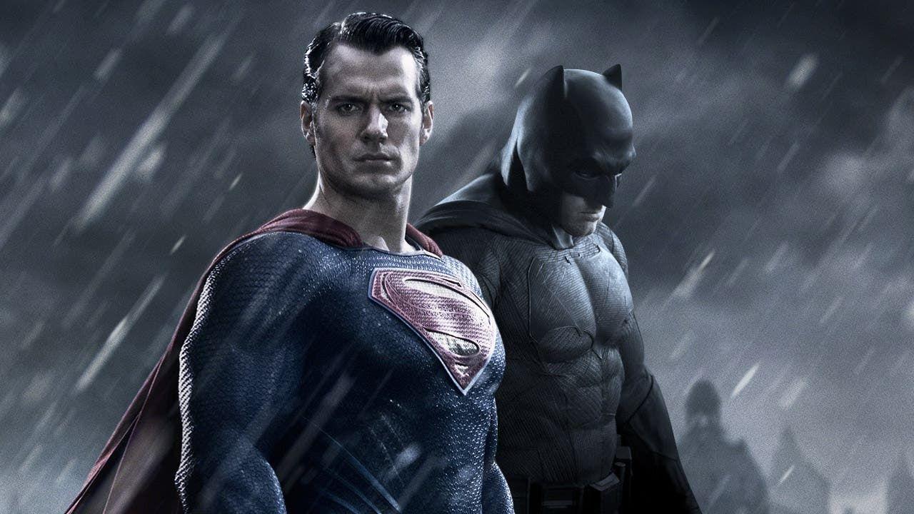 Superman y Batman en el film de 2016.  | Foto:CEDOC