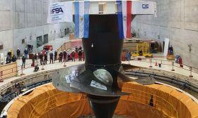 IMPSA actual de las turbinas de Yacyreta 20201216