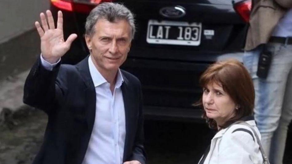 Mauricio Macri y Patricia Bullrich 20201216