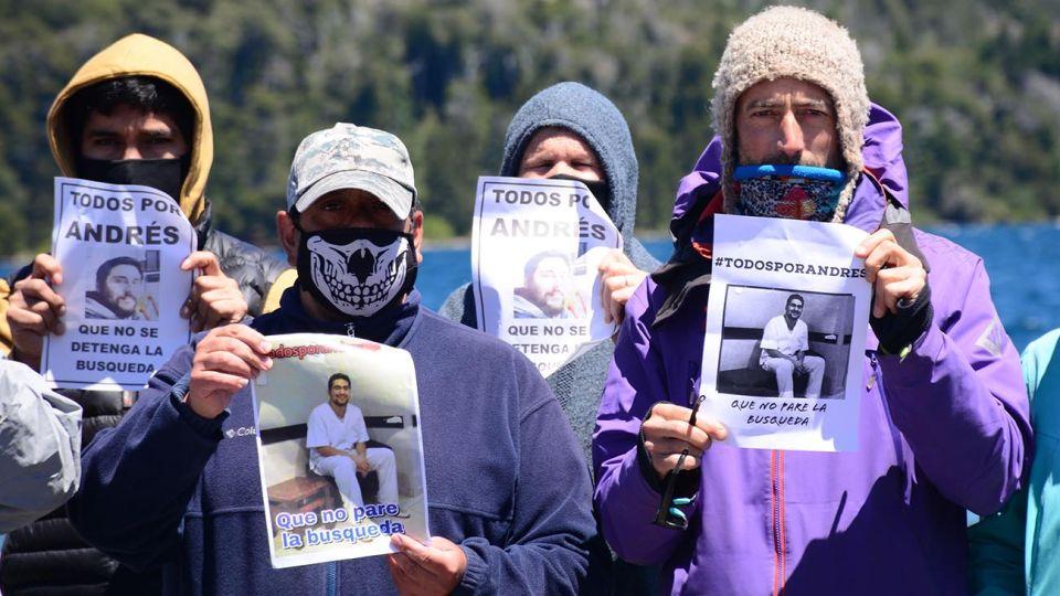 A una semana, continúa la búsqueda del kayakista que desapareció en el Lago Moreno