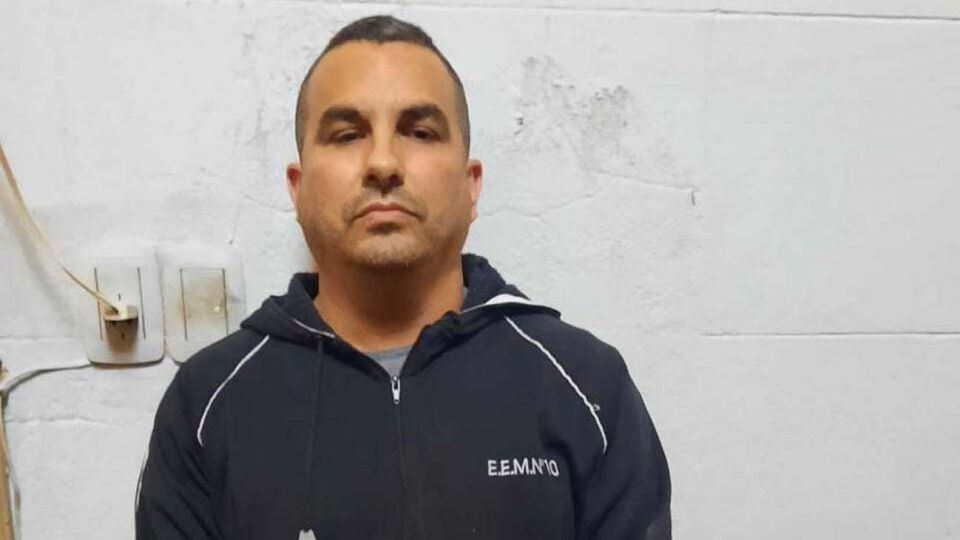 Fabián Tablado fue detenido por violar la prohibición de acercamiento al padre de Carolina Aló