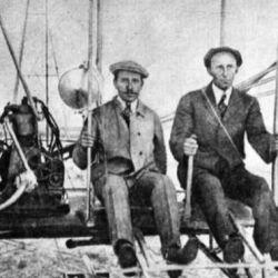 A Wilbur y Orville Wright los unía la pasión por los aviones y los vuelos.