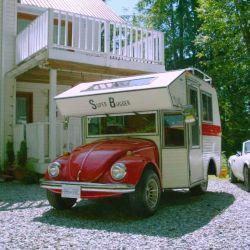 El Super Bugger nació en los años 70, cuando una empresa californiana decidió ofrecer un camper a partir del famoso Escarabajo.