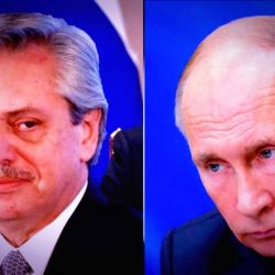 Alberto Fernández / Vladimir Putin