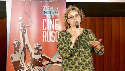La cineasta Silvana Jarmoluk
